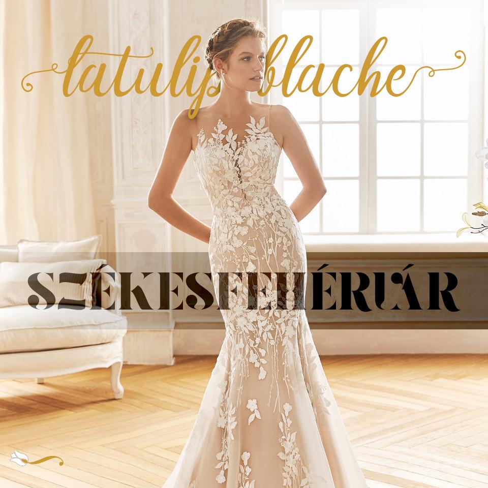 03c7688615 La Tulipe Blanche | Esküvői ruhaszalon Veszprém Székesfehérvár luxus ...