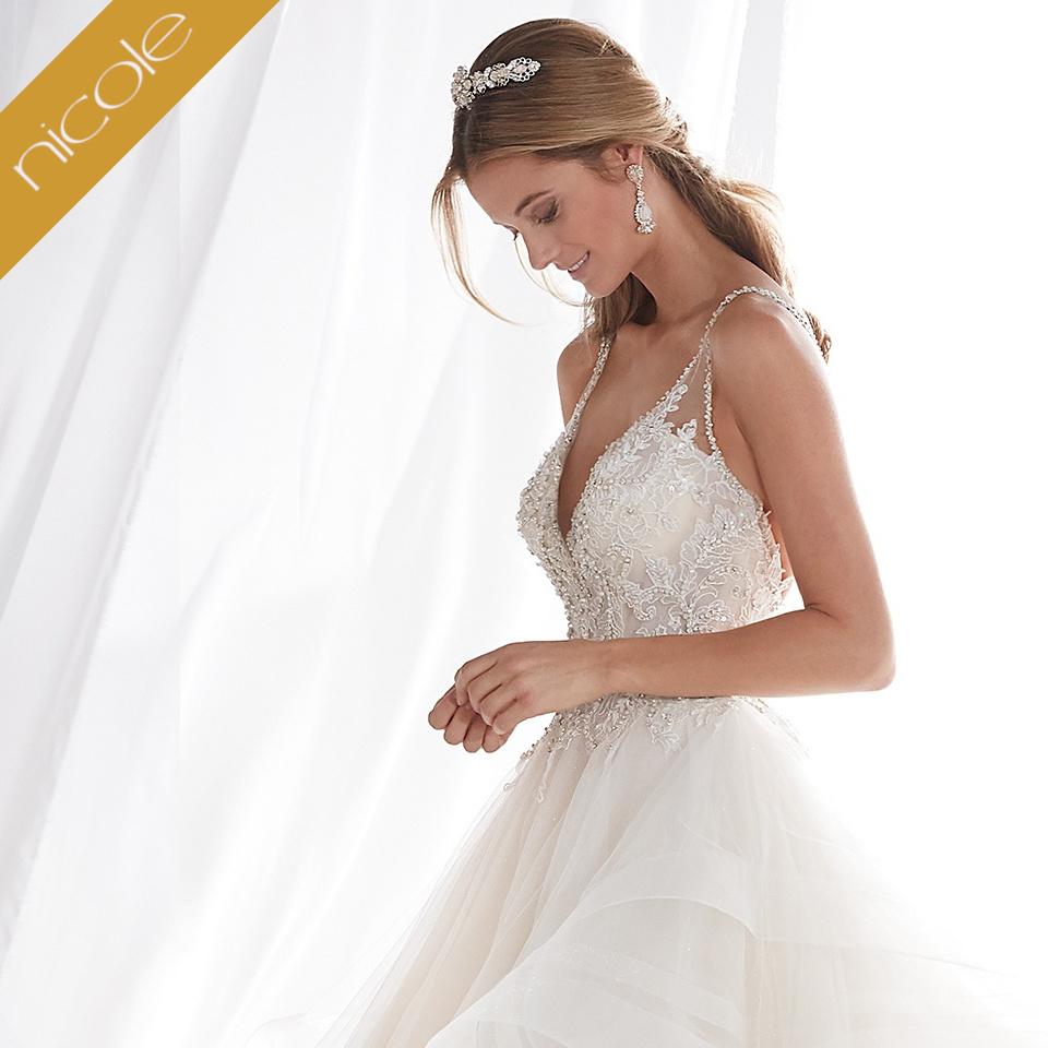 Nicole kollekciók. Menyasszonyi kollekciók 96ed89cc22